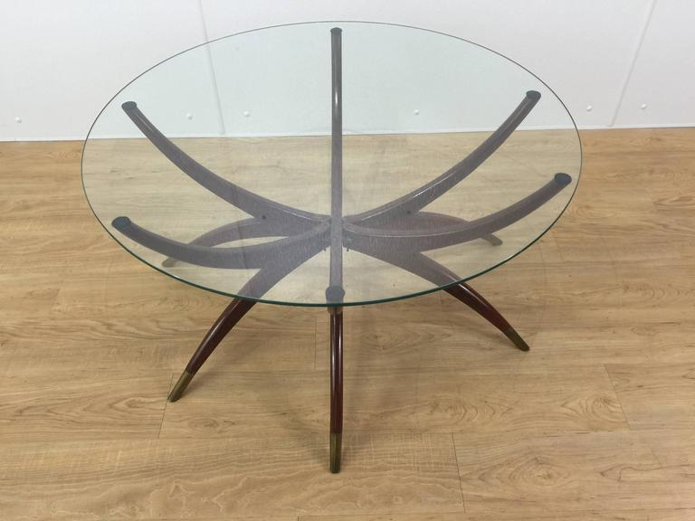 Mid Century Modern Spider Leg Coffee Table At 1stdibs