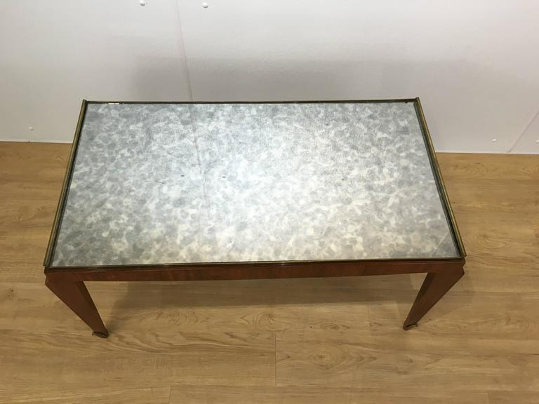 French Fine Art Deco Coffee Table For Sale