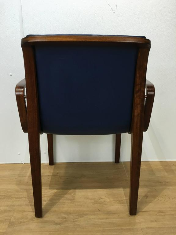 Mid-Century Modern  Bill Stephens for Knoll Dining Chair For Sale