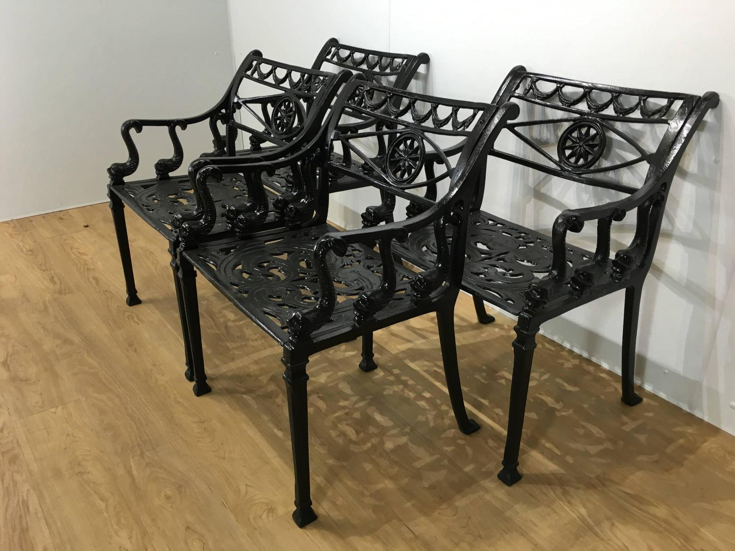 Four Molla Garden Chairs At 1stdibs