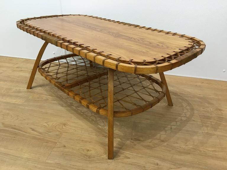 Rectangular Adirondack Style Coffee Table At 1stdibs