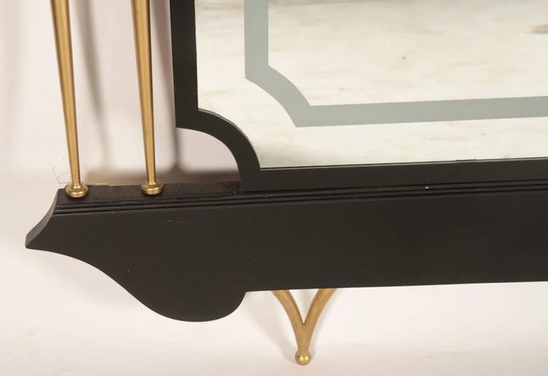 Massive Italian Modern Floor Mirror In Excellent Condition For Sale In Oaks, PA