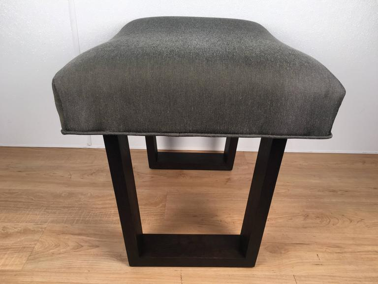 Robsjohns -Gibbings Style Ebonized Bench 3
