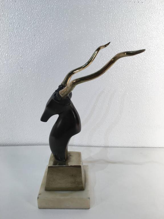 Modern Kudu Sculpture, after Salvador Dali For Sale