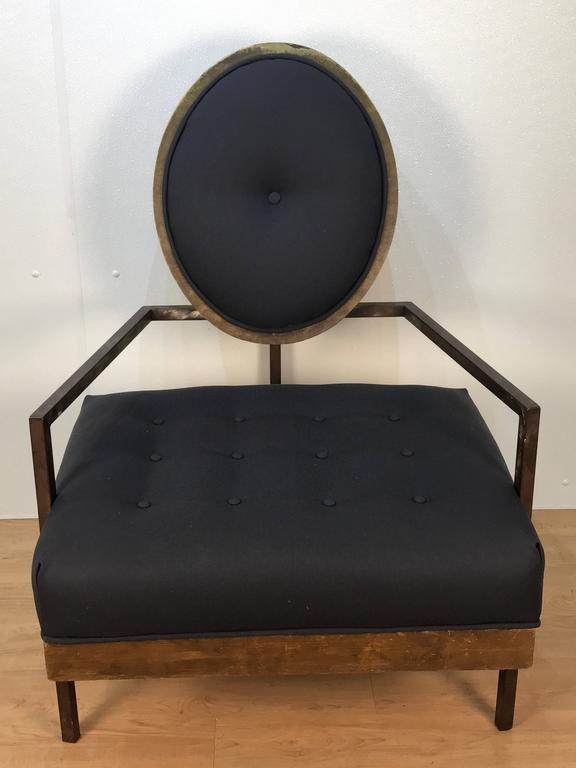 Pair of French Modern Club Chairs 3