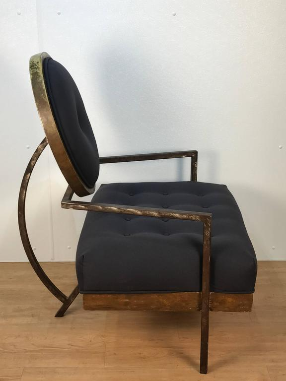 Pair of French Modern Club Chairs 4