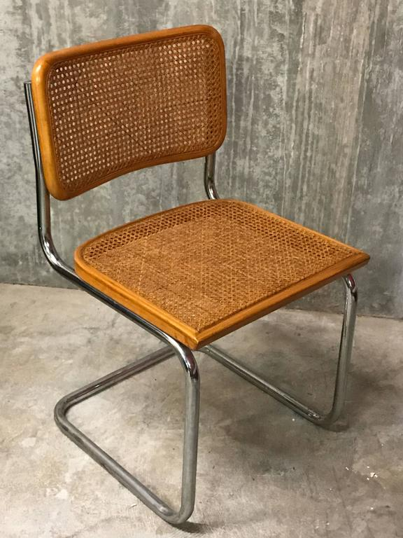 Six Vintage Italian Cesca Chairs 2