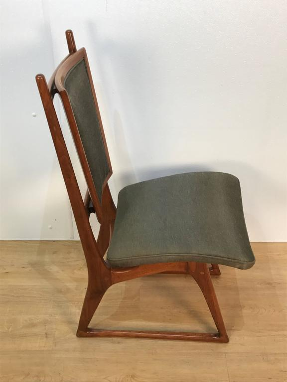 Mid-20th Century Four Vladimir Kagan Dining Chairs For Sale