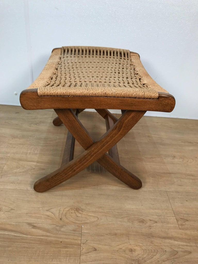 Wood Lounge Chair and Ottoman