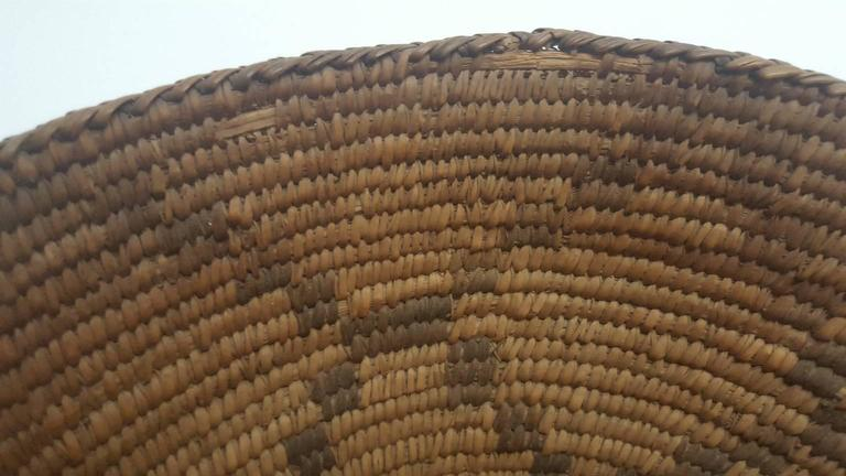 Late 19th Century 19th Century Apache Basket For Sale