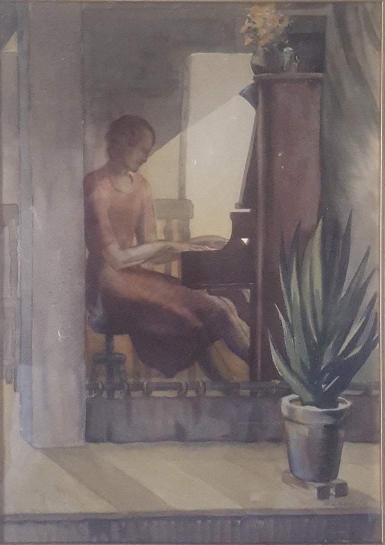 Other 20th Century Watercolor Painting