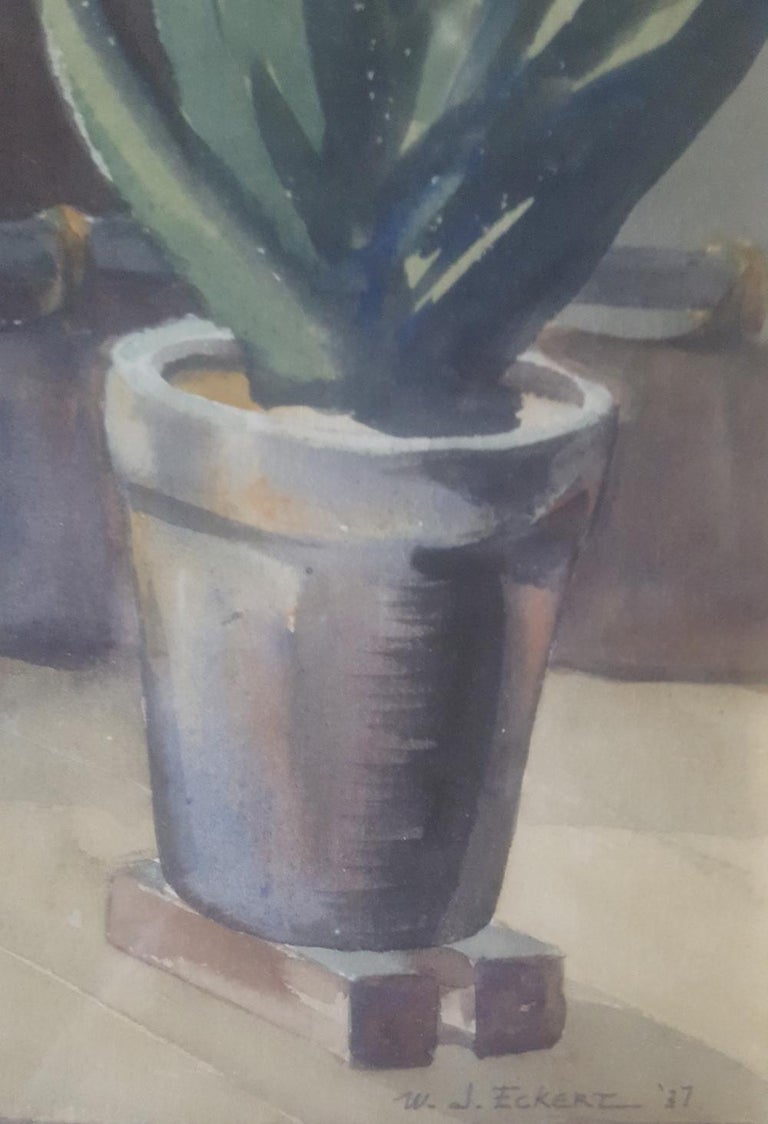 20th Century Watercolor Painting