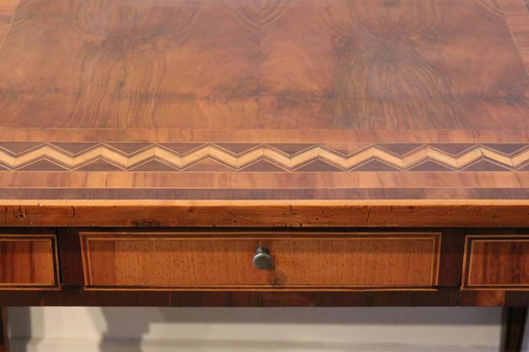 18th Century Italian Parquetry Writing Table 2
