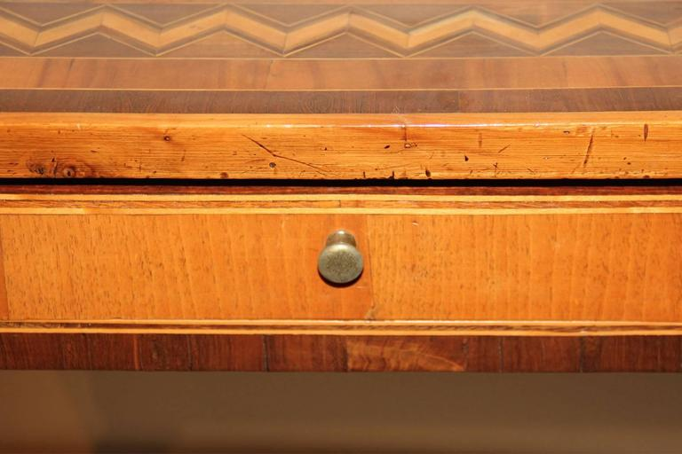 18th Century Italian Parquetry Writing Table 4