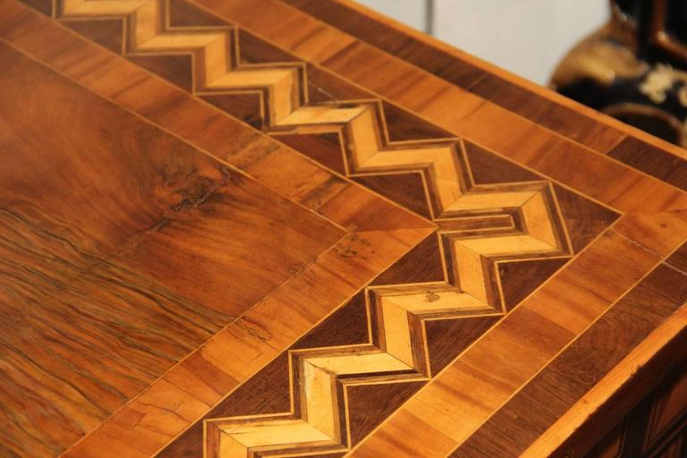 18th Century Italian Parquetry Writing Table 5