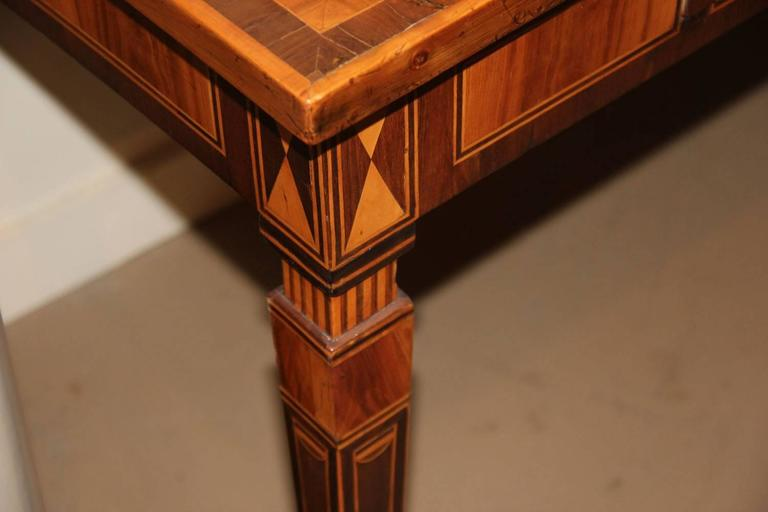 18th Century Italian Parquetry Writing Table 7
