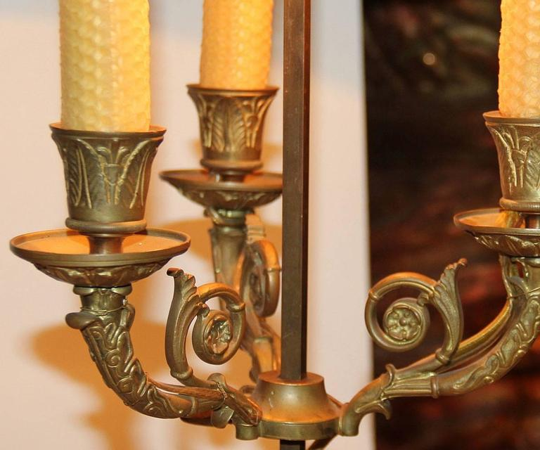 19th Century French Bouillotte Lamp 2