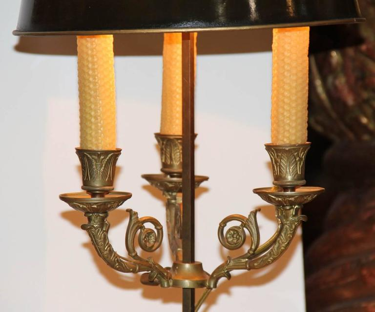 19th Century French Bouillotte Lamp 3