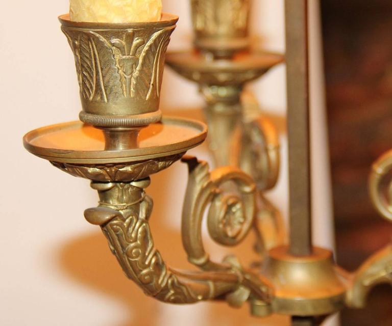 19th Century French Bouillotte Lamp 6