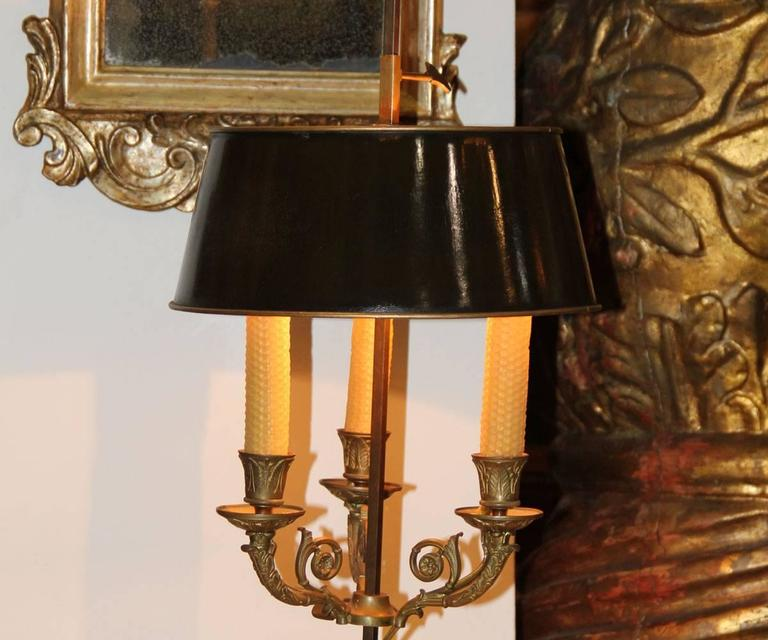 19th Century French Bouillotte Lamp 8