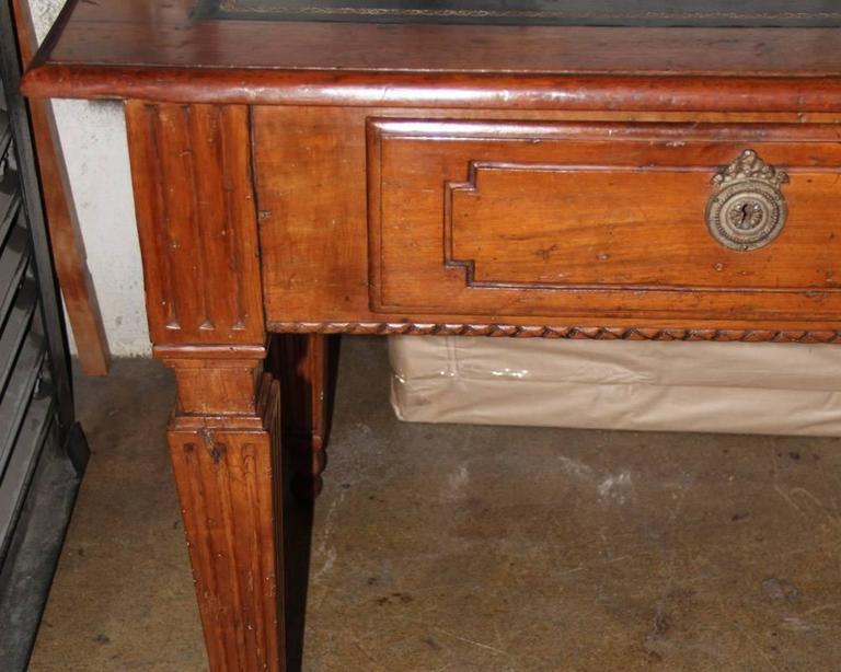 18th Century Italian Louis XVI Walnut Writing Desk 2
