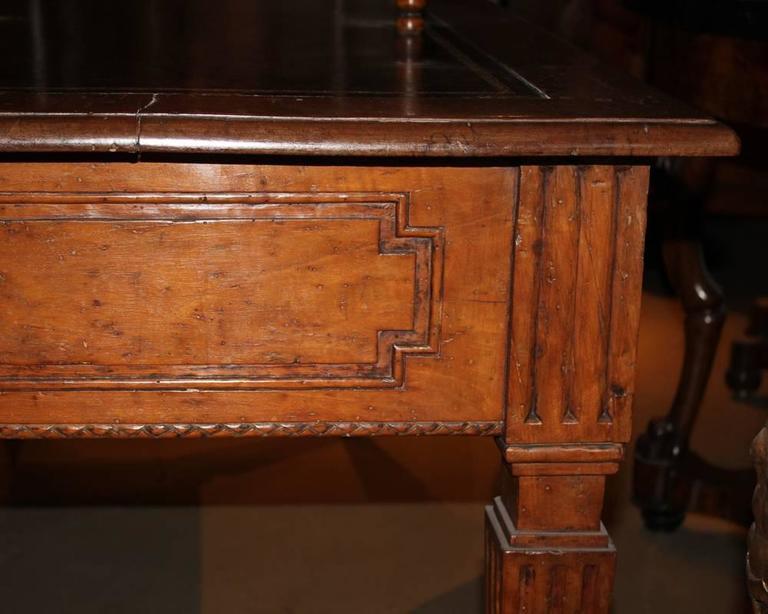 18th Century Italian Louis XVI Walnut Writing Desk 5