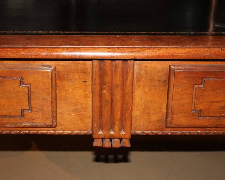 18th Century Italian Louis XVI Walnut Writing Desk 6