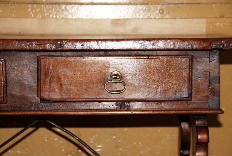 18th Century Tuscan Walnut Desk 5