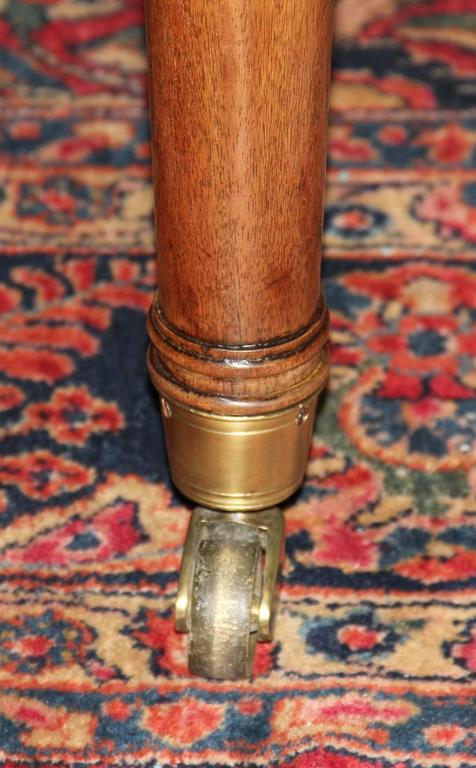 19th Century English Regency Semi-Circular Mahogany Hunt and Wine Display Table 7