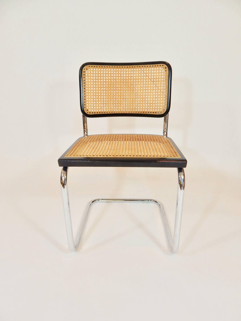 marcel breuer cesca chair italy at 1stdibs. Black Bedroom Furniture Sets. Home Design Ideas