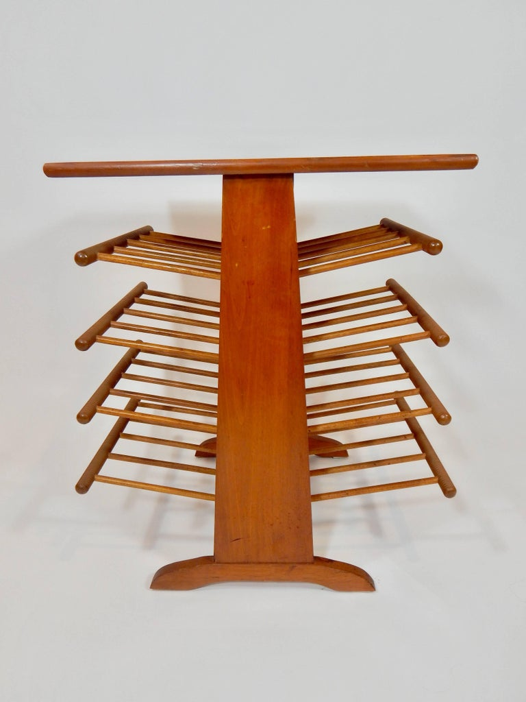 Magazine Stand Rack Table For Sale 1