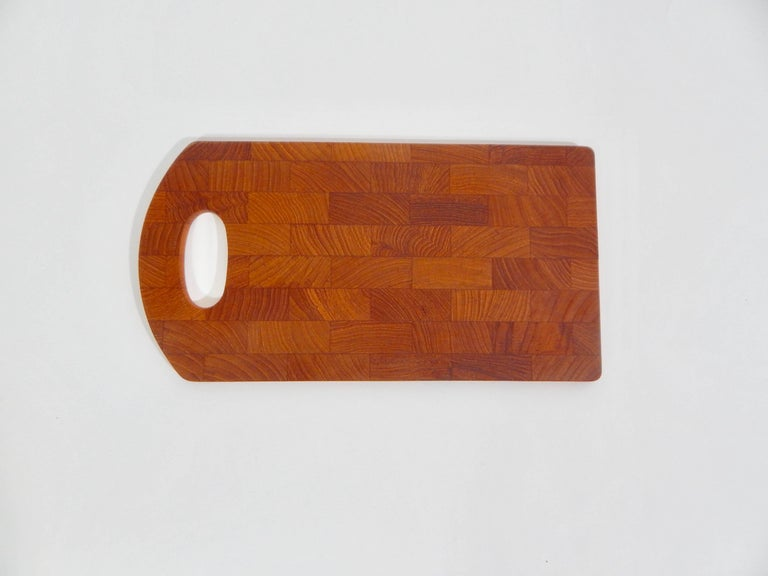 Midcentury 1960s Danish teak tray designed by Jens Quistgaard for Dansk. Excellent Condition  Domestic Shipping is Complimentary Free for this Item