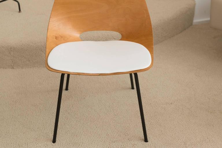 pierre guariche set of six chaise tonneau for sale at. Black Bedroom Furniture Sets. Home Design Ideas