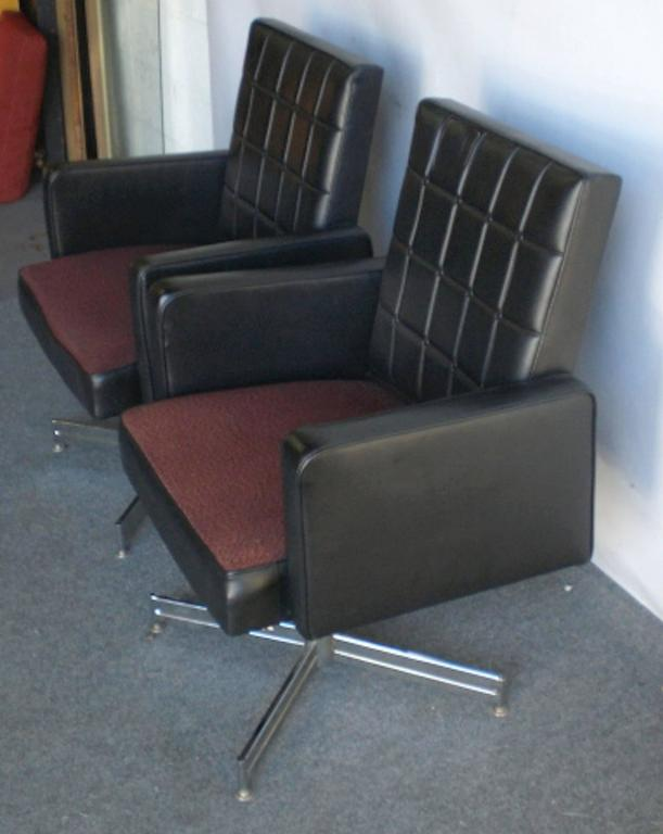 Mid Century Modern Vintage Office Chair By Nightingale Single For