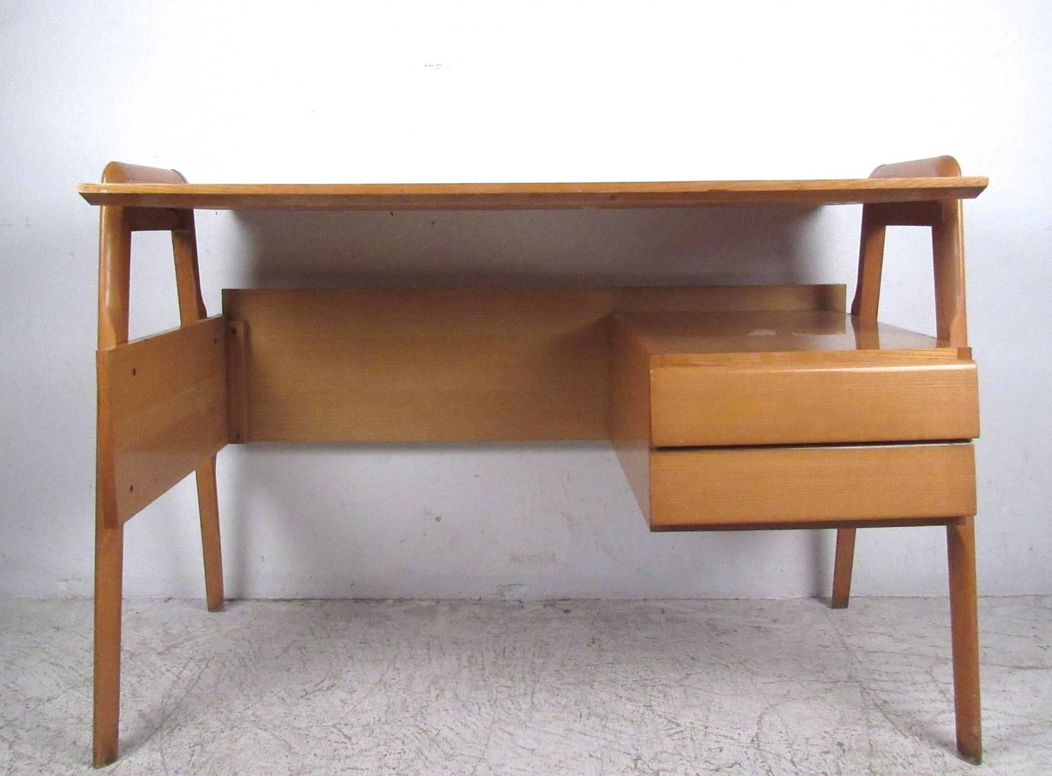 Exquisite mid century modern italian floating desk for for Floating desk for sale