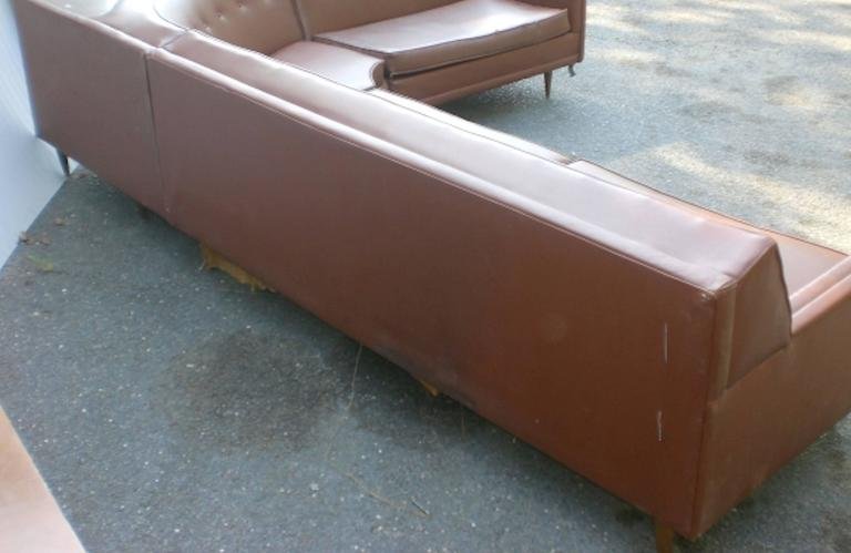 Mid-Century Sectional Sofa 5