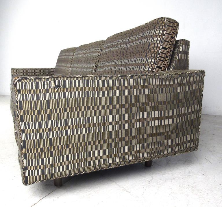 American Impressive Mid-Century Sofa by Harvey Probber