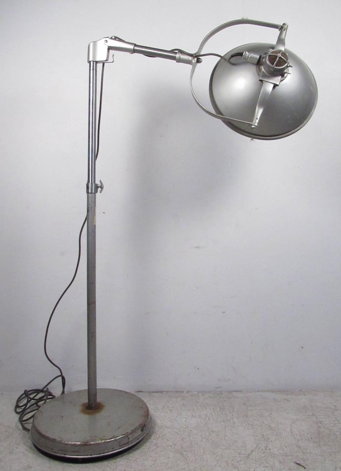 vintage american surgical luminaire floor lamp for sale at 1stdibs. Black Bedroom Furniture Sets. Home Design Ideas
