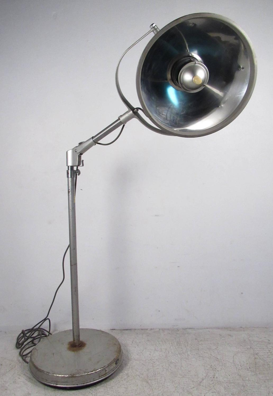 Vintage American Surgical Luminaire Floor Lamp For Sale At