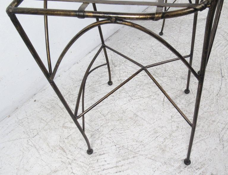 Set of Four Modern Bar Stools For Sale 2