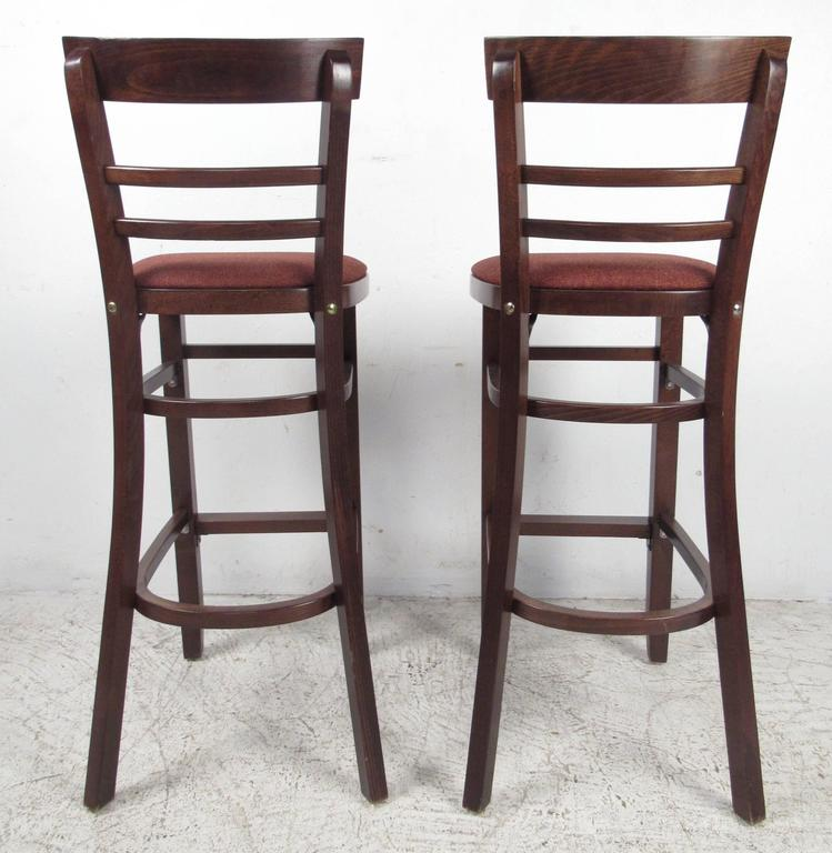 Set Of Four Contemporary Modern Bar Stools For Sale At 1stdibs