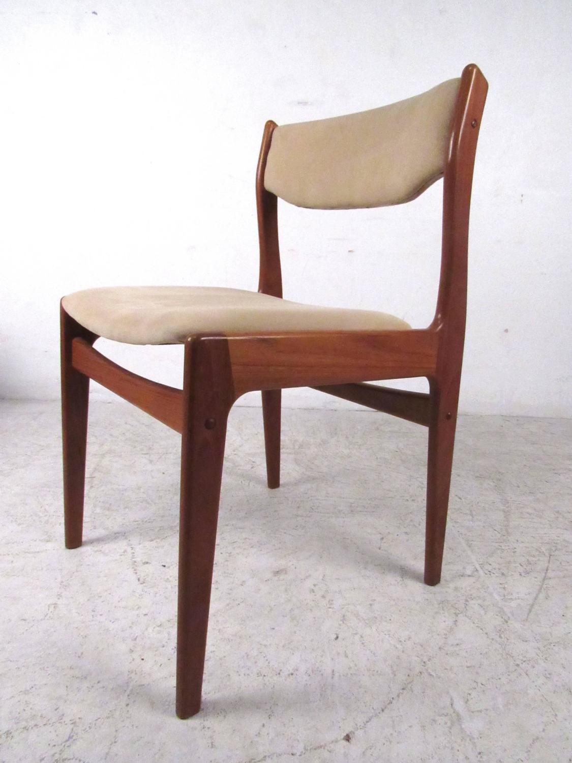 of mid century modern danish teak dining chairs for sale at 1stdibs