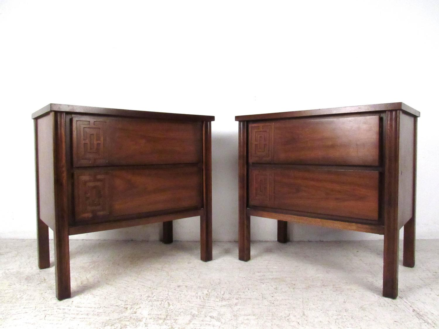 stylish mid century modern seven piece bedroom set for sale at 1stdibs