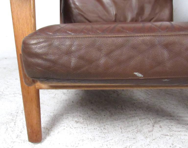 Pair Hans Wegner Highback Lounge Chairs for GETAMA, GE-290 For Sale 1