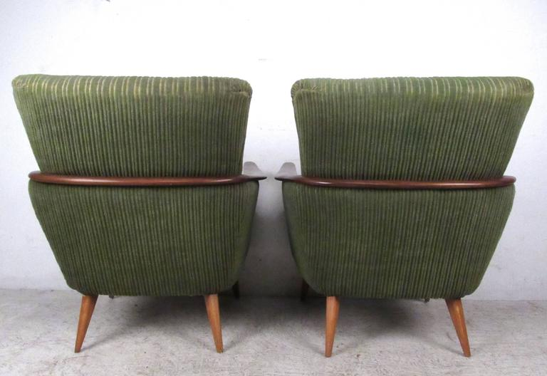Mid-20th Century Unique Mid-Century Modern Danish Lounge Chairs For Sale