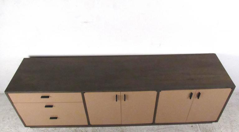 American Vintage Office Credenza by Founders For Sale