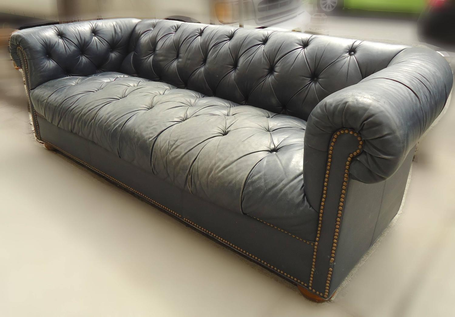 Vintage Chesterfield Sofa at 1stdibs