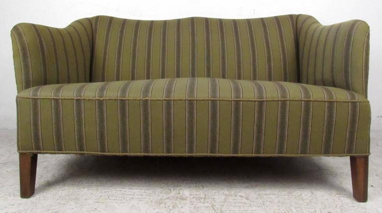 Mid-20th Century Scandinavian Modern Two Seat Sofa For Sale