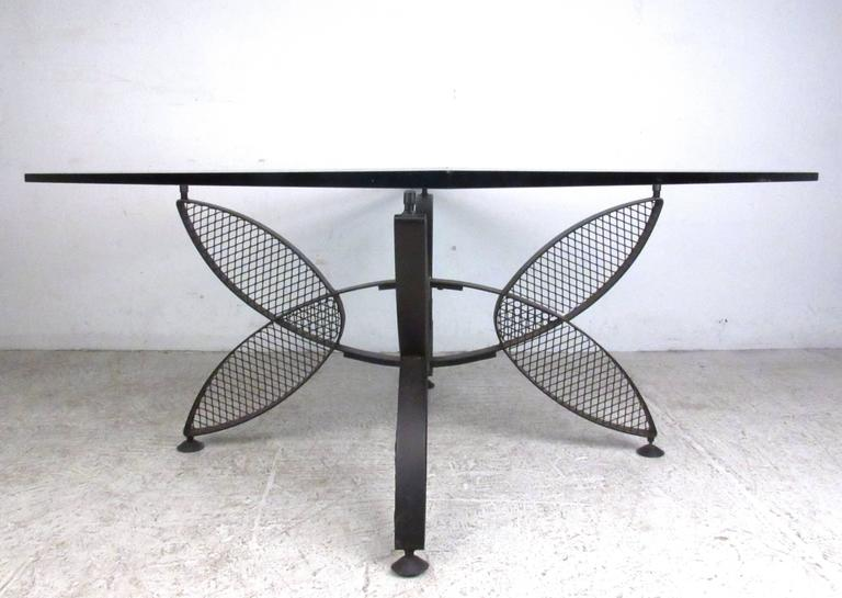 Genial This Unique Butterfly Style Coffee Table Base Makes A Simple Yet Stylish  Addition To Any Interior