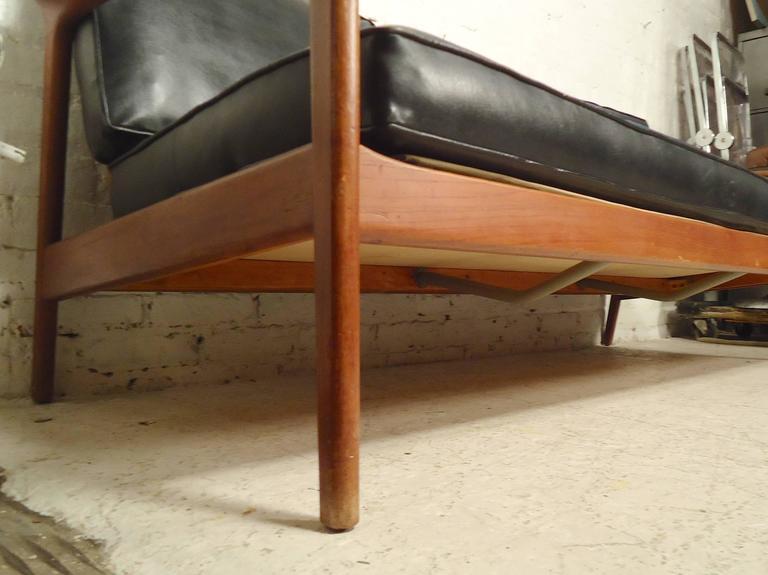 Mid-Century Modern Folke Ohlsson Sofa with Teak Frame For Sale